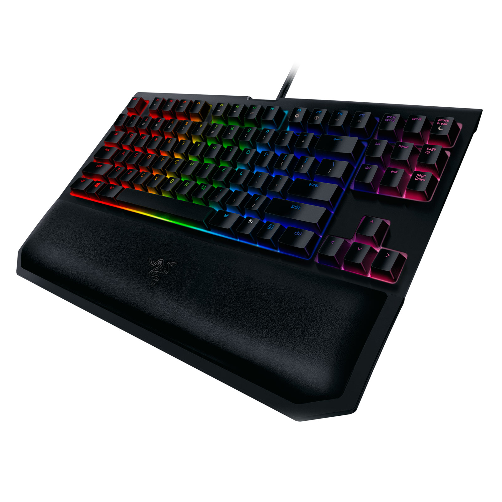 Razer BlackWidow Tournament Edition Chroma V2 Green sw. - Clavier PC - 2