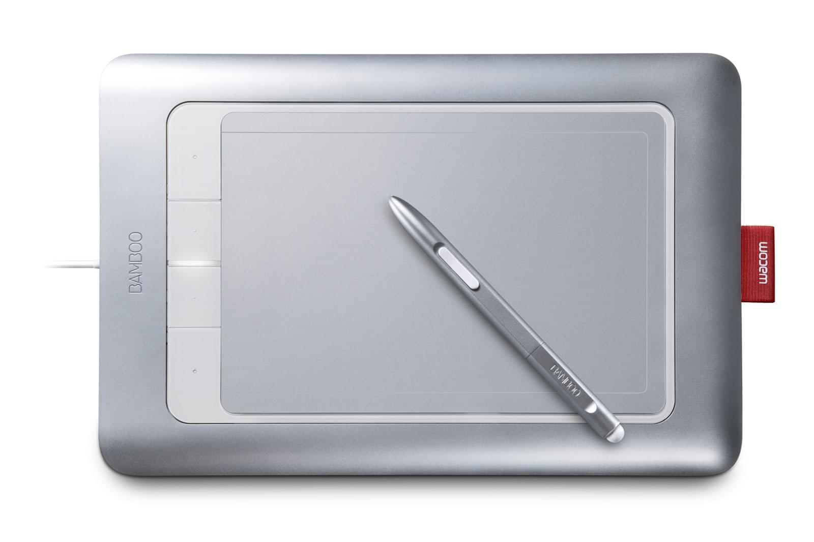 Wacom Bamboo Fun M Pen & Touch (CTH-670S-FR) - Achat / Vente Tablette Graphique sur Cybertek.fr - 0