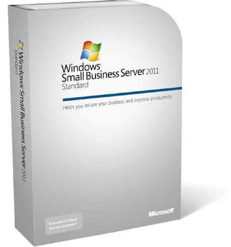 Microsoft Small Business Server Standard 2011 (5 clients) (T72-02882) - Achat / Vente Logiciel système exploitation sur Cybertek.fr - 0