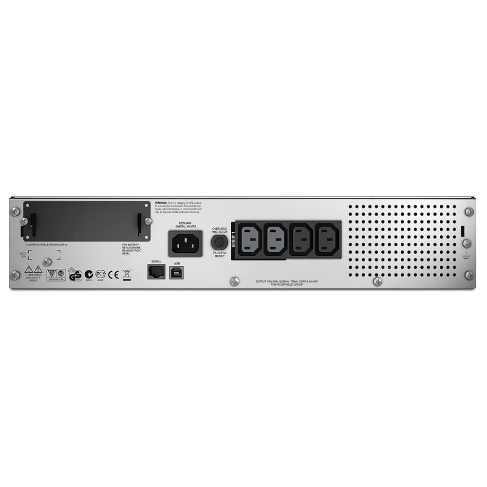 APC SMT750RMI2U (SMT750RMI2U) - Achat / Vente Onduleur - Multiprises sur Cybertek.fr - 0