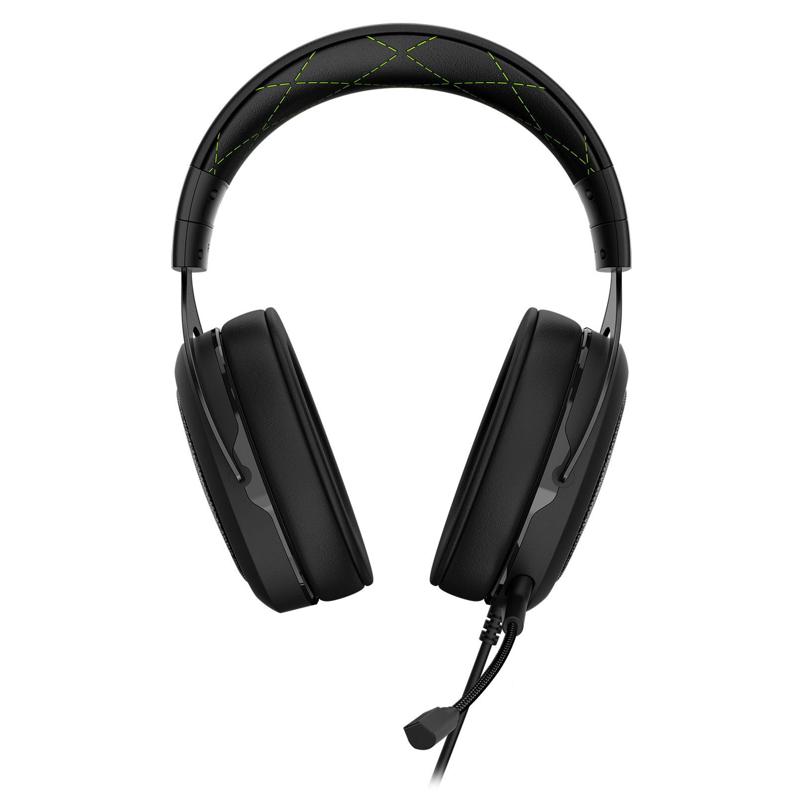 Corsair HS50 Stereo Gaming Headset Green Stereo - Micro-casque - 2