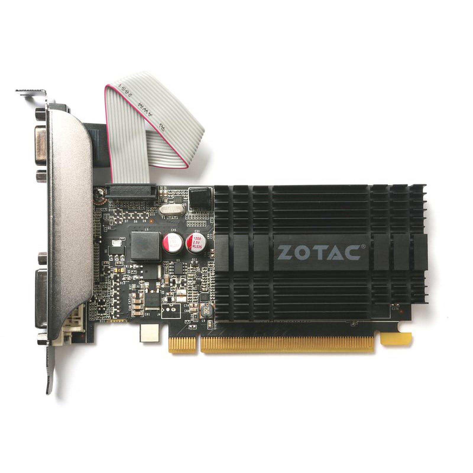 ZOTAC GT 710 2GB Zone Edition 2Go - Carte graphique ZOTAC - 4