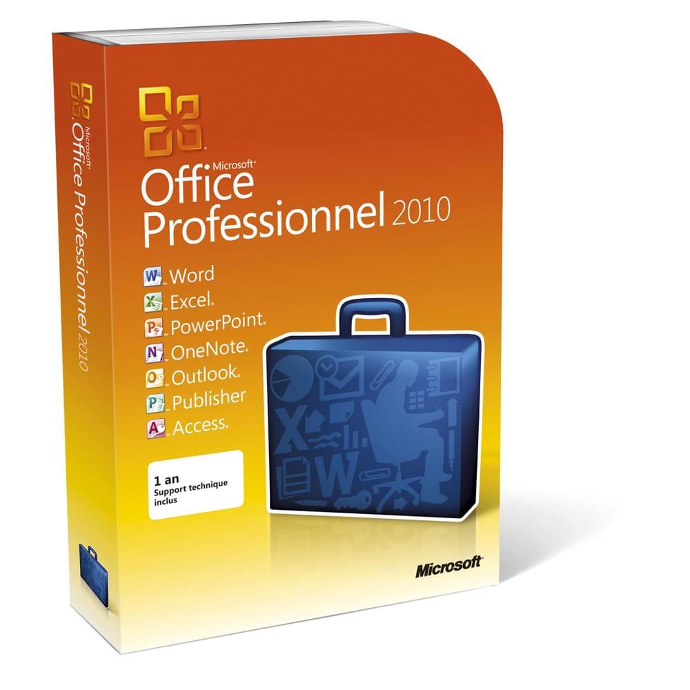 Microsoft Office PRO 2010 Boite (269-14673 soldé) - Achat / Vente Logiciel suite bureautique sur Cybertek.fr - 0