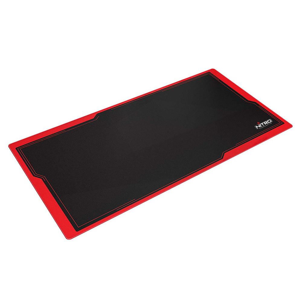 Nitro Concepts Deskmat Dm16 Noir Rouge 160x80cm Tapis De Souris