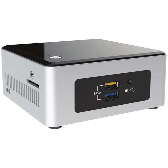 Intel NUC NUC5CPYH - Barebone et Mini-PC Intel - Cybertek.fr - 0