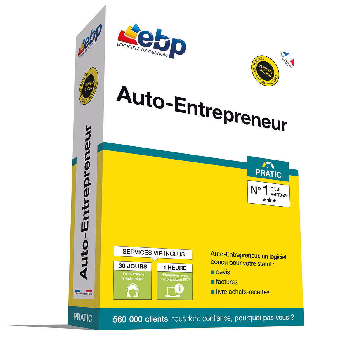 EBP Auto-Entrepreneur PRATIC + VIP - Logiciel application - 0