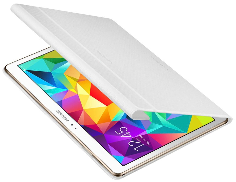 """Samsung Book Cover Galaxy Tab S 10.5"""" Blanc EF-BT800B (EF-BT800BWEGWW) - Achat / Vente Accessoire Tablette sur Cybertek.fr - 0"""