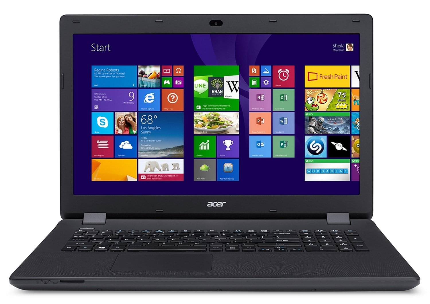 Acer ES1-711-C5U2 (NX.MS2EF.008 arret work-it) - Achat / Vente PC portable sur Cybertek.fr - 0