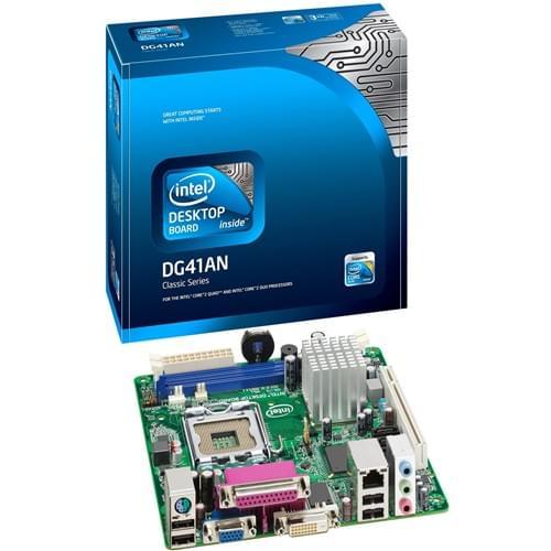 Intel DG41AN Mini-ITX DDR3 - Carte mère Intel - Cybertek.fr - 0