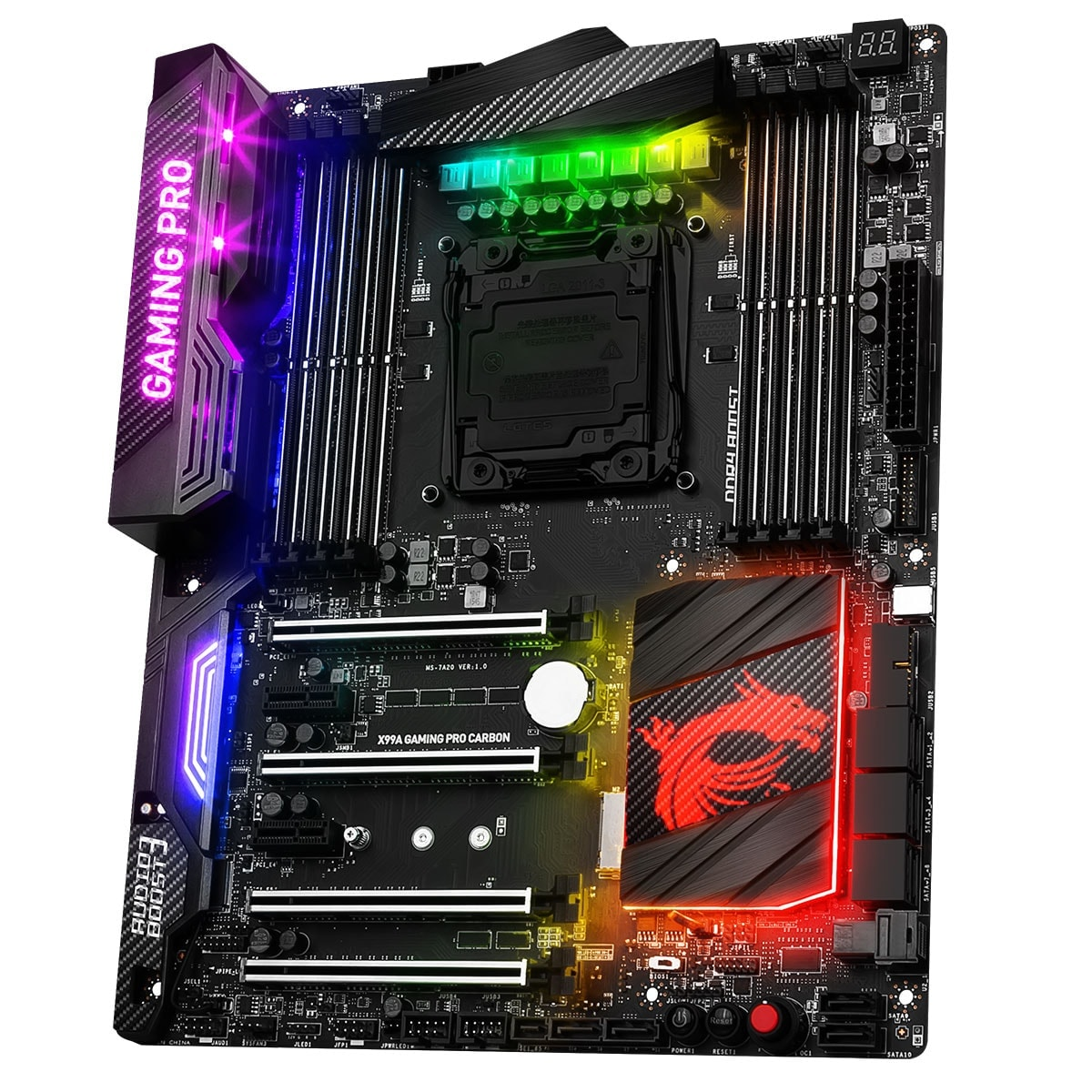 Carte mère MSI X99A GAMING PRO CARBON - 1