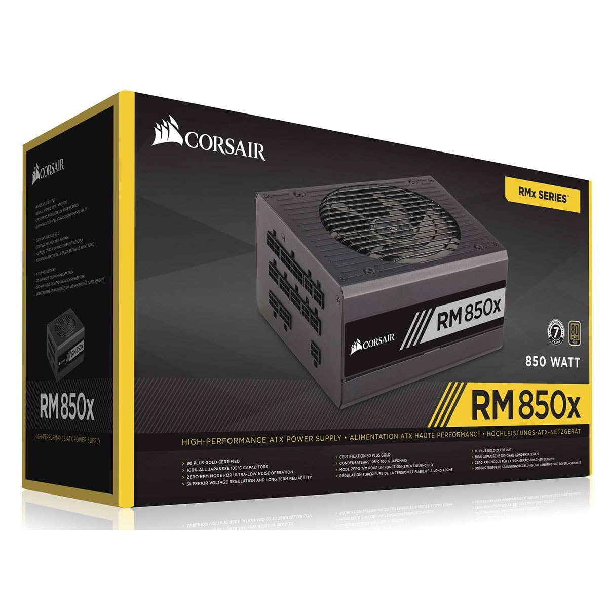 Alimentation PC Corsair ATX 850 W. RM850x Mod. 80+ Gold CP-9020093-EU - 0