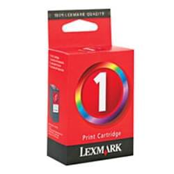 Lexmark Cartouche couleur n°1 (018C0781E) - Achat / Vente Consommable Imprimante sur Cybertek.fr - 0