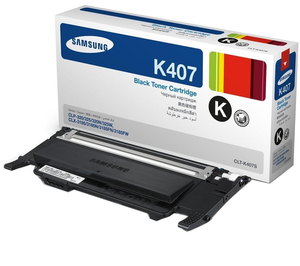 Toner CLT-K4072S Noir pour imprimante Laser Samsung - 0