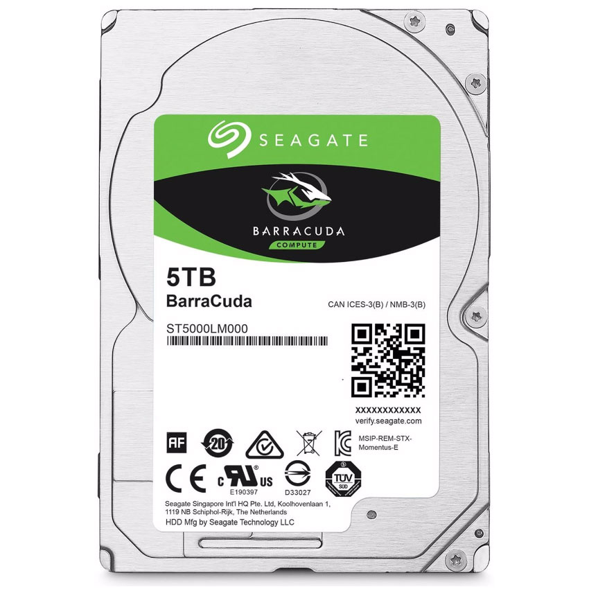 "Seagate 5To 5400Tr SATAIII 128Mo ST5000LM000 - Disque dur interne 2.5"" - 0"