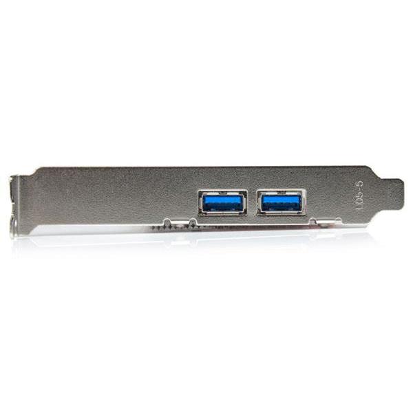 PCI-E 4 Port USB3.0 2Ext./ 2Int.(1x IDC) - Carte contrôleur - 2