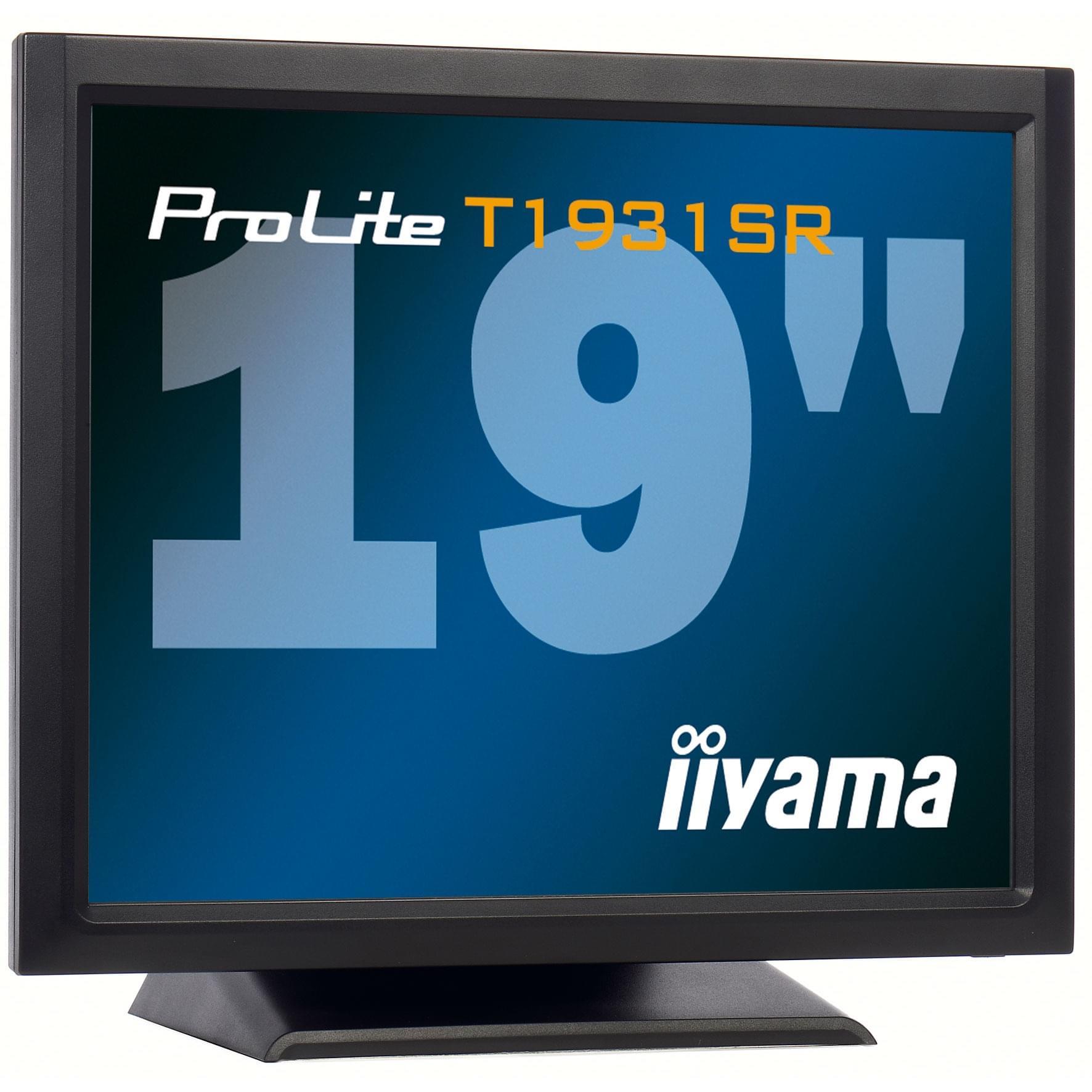 Iiyama PLT1931SR-B1 (PLT1931SR-B1) - Achat / Vente Ecran PC sur Cybertek.fr - 0
