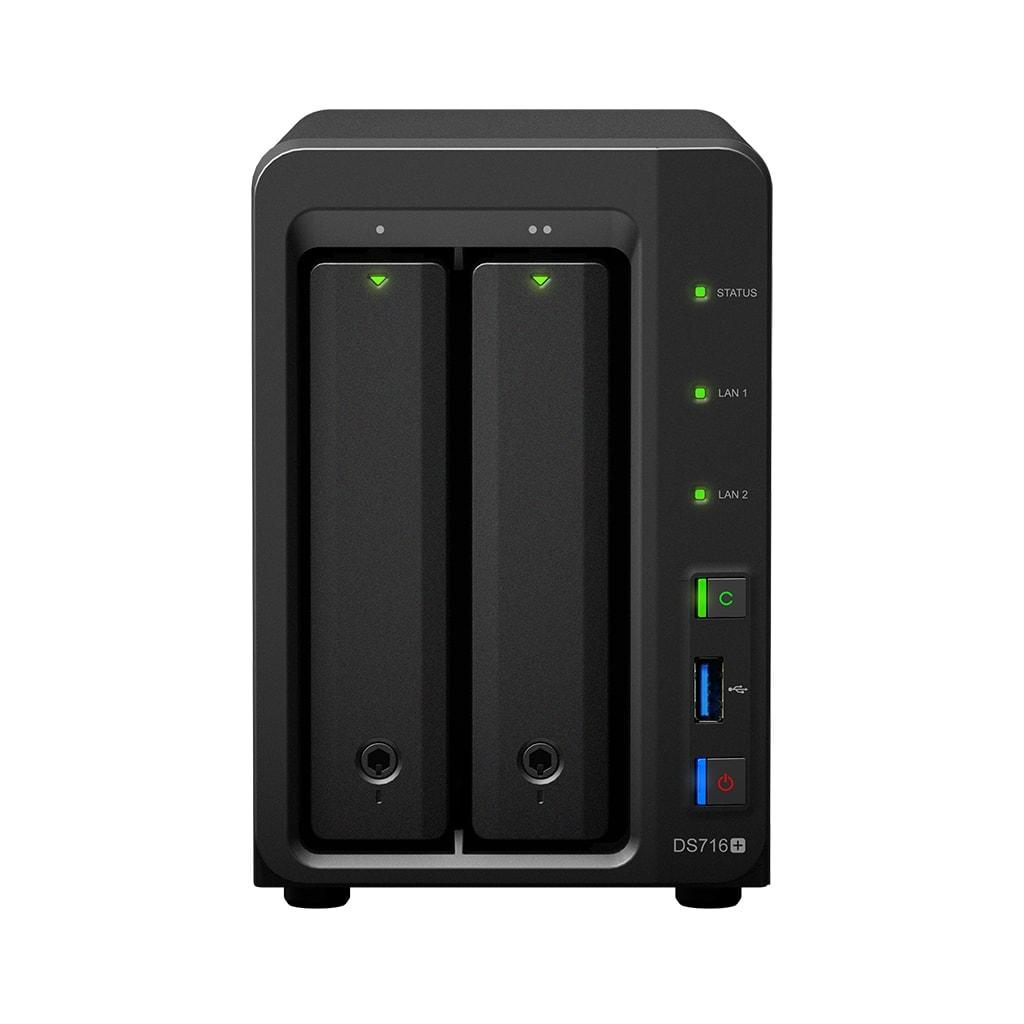 Synology DS716+ (DS716+) - Achat / Vente Serveur NAS sur Cybertek.fr - 0
