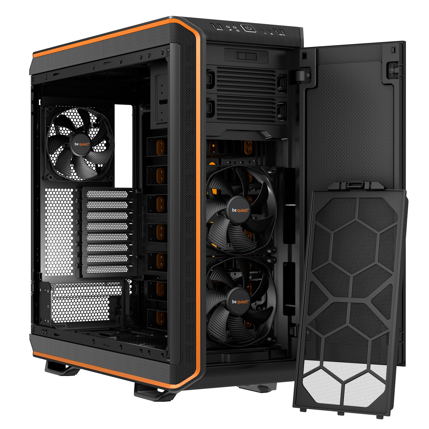 Be Quiet! Dark Base 900 Orange Orange - Boîtier PC Be Quiet! - 2