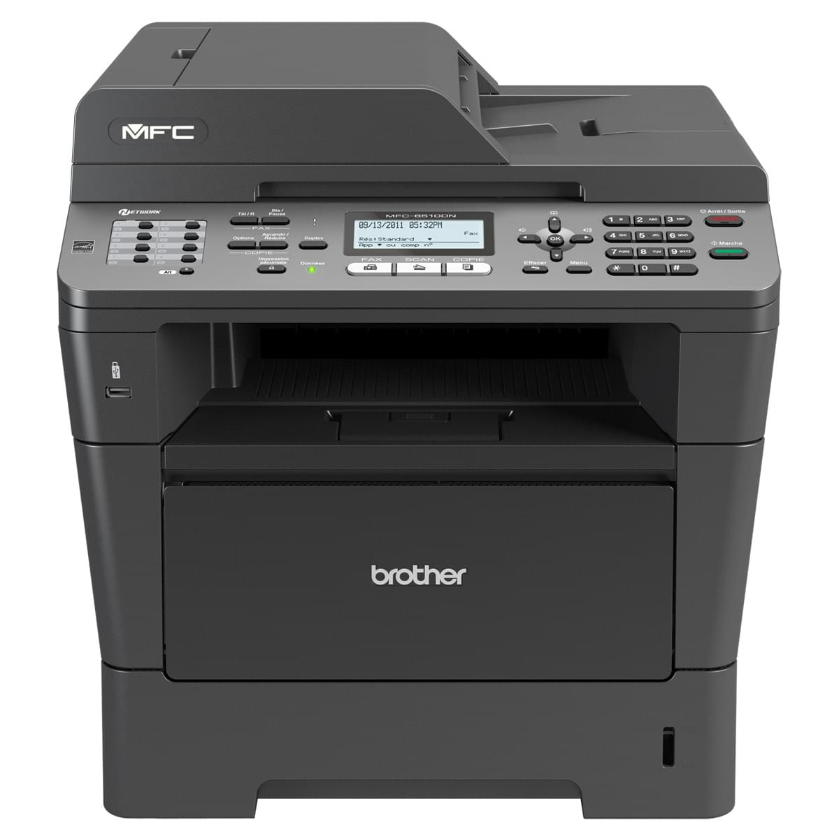 Brother MFC-8510DN + Garantie 3 ans (MFC8510DNRF1) - Achat / Vente Imprimante Multifonction sur Cybertek.fr - 0
