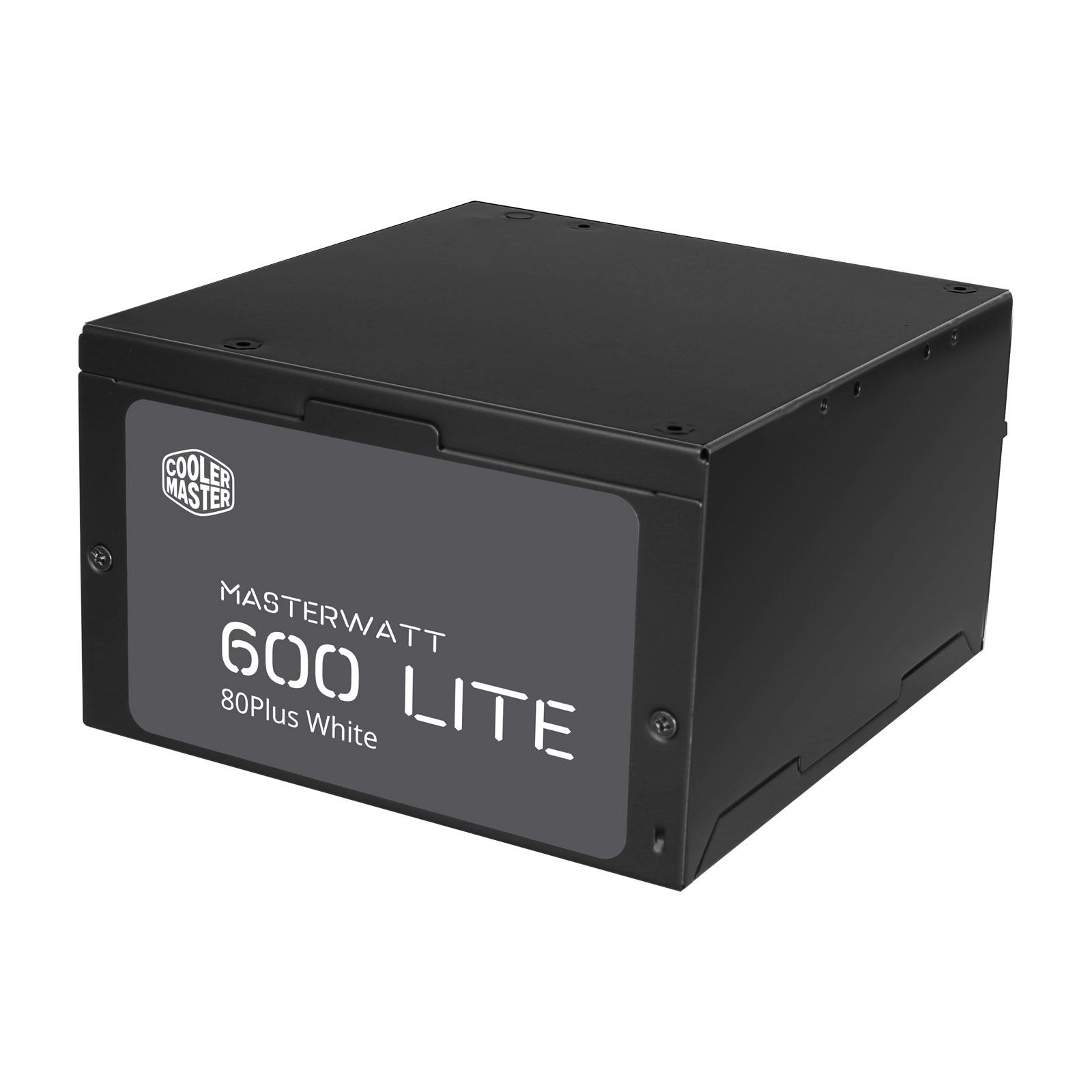 Cooler Master MasterWatt Lite (600W) - Alimentation Cooler Master - 3