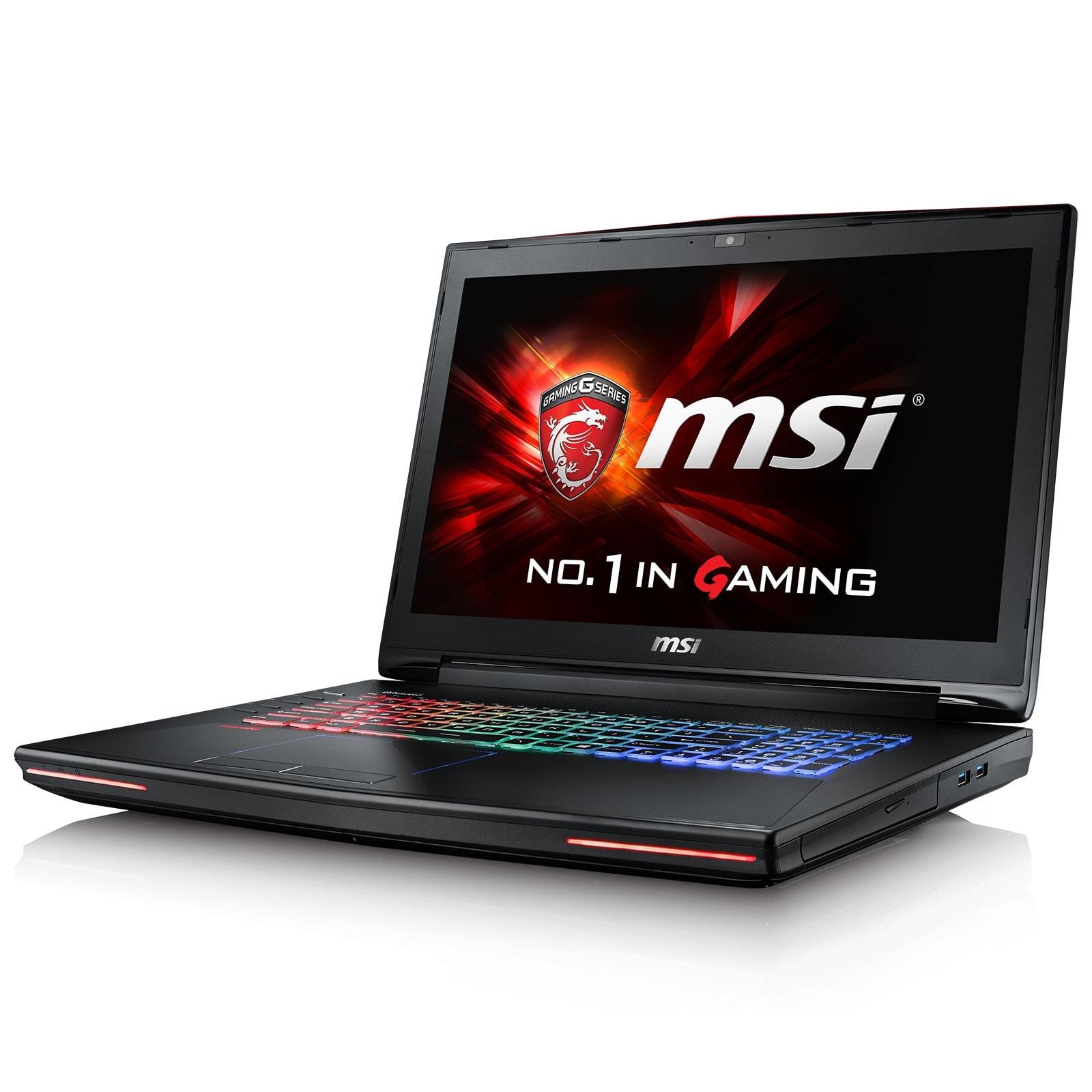 MSI GT72S 6QE-083X (9S7-178211-083) - Achat / Vente PC portable sur Cybertek.fr - 0