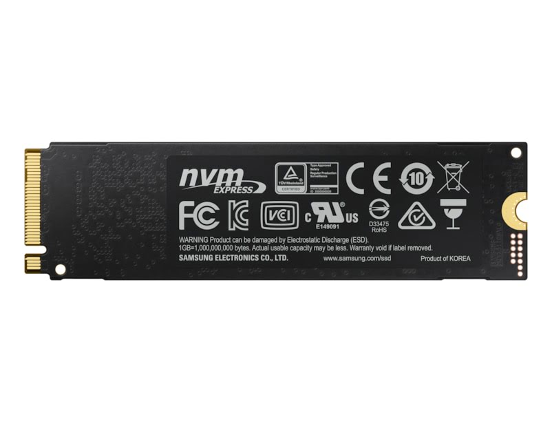 Samsung 970 EVO PLUS 240-275Go M.2 - Disque SSD Samsung - 3