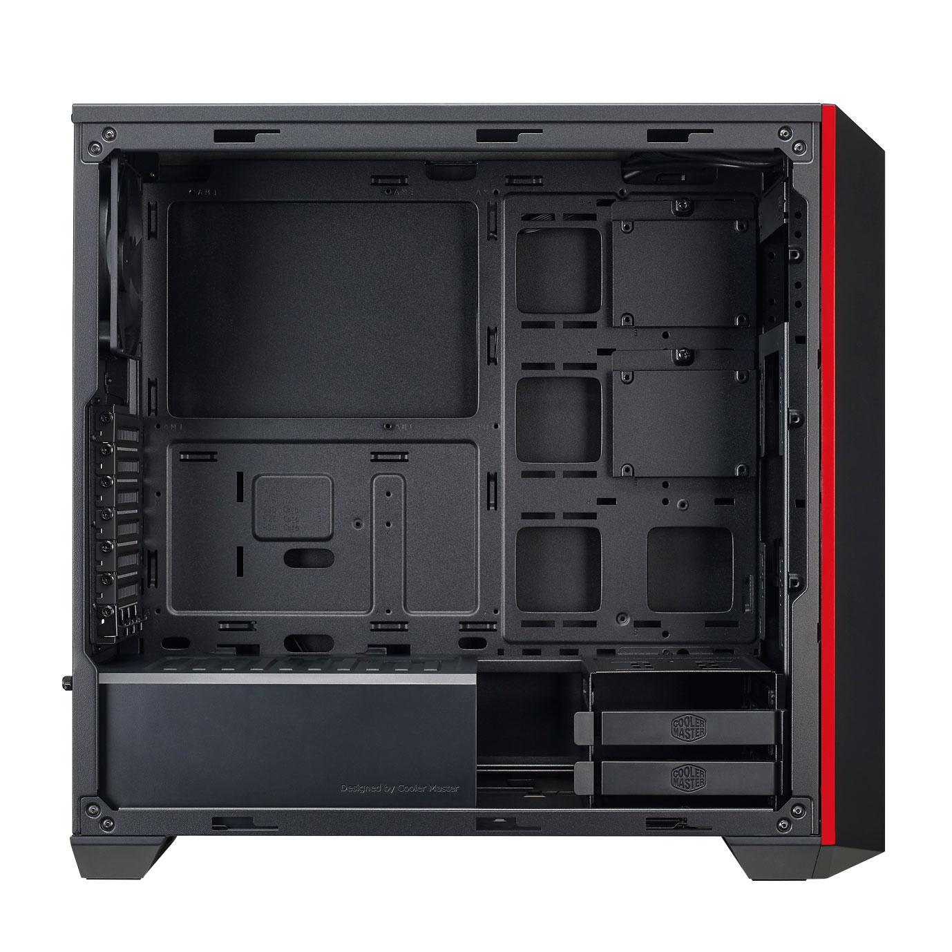 Cooler Master MasterBox 5 MSI MCX-B5S2-KWNN-03-MI Rouge - Boîtier PC - 2
