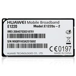 Huawei Accessoire Tablette Module 3G pour tablette DUST DU-i100BK132 Cybertek