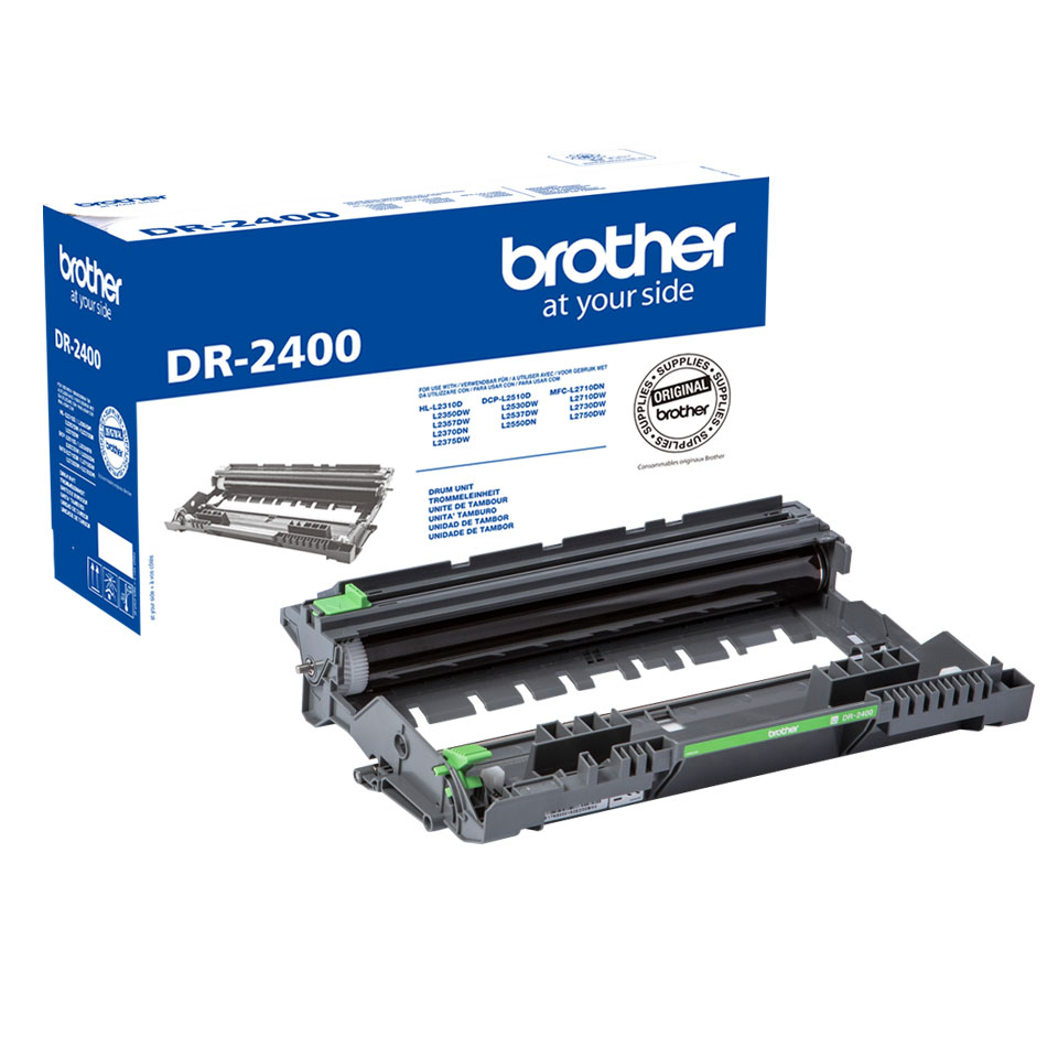 Tambour DR2400 pour imprimante Laser Brother - 0