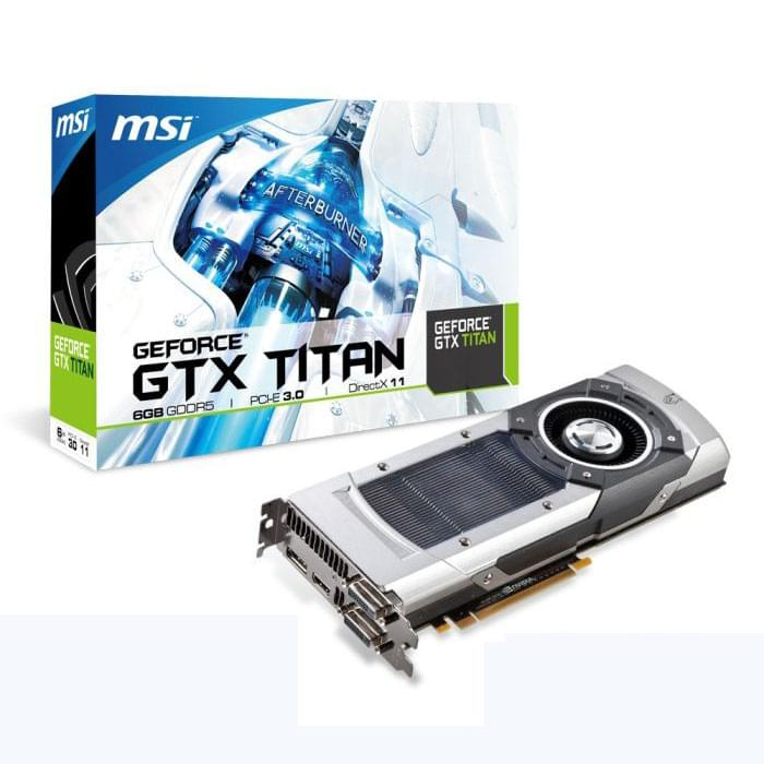 MSI NTITAN-6GD5 6Go - Carte graphique MSI - Cybertek.fr - 0