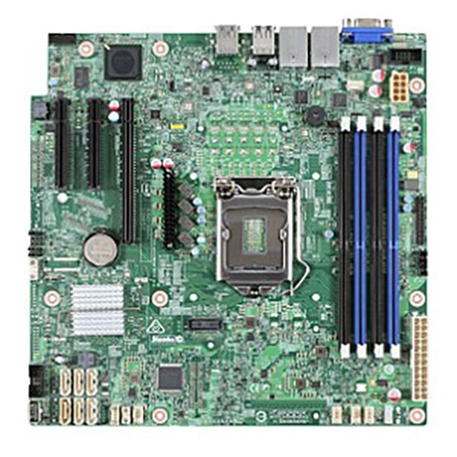 Intel DBS1200SPSR Micro-ATX DDR4 - Carte mère Intel - Cybertek.fr - 0