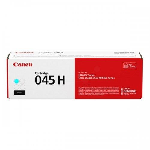 Toner Cyan Grande Capacité 045 HC - 1245C002 pour imprimante  Canon - 0