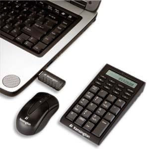 Kensington Bundle pavé numérique + souris sans fil - Pack Clavier/Souris - 0