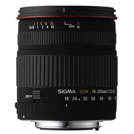 Sigma Objectif 18/200 Canon (0901O015) - Achat / Vente Access. Audio-Photo-Vidéo sur Cybertek.fr - 0