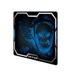 S.O.G Tapis de souris Gaming Smokey Skull - XL/Bleu Cybertek