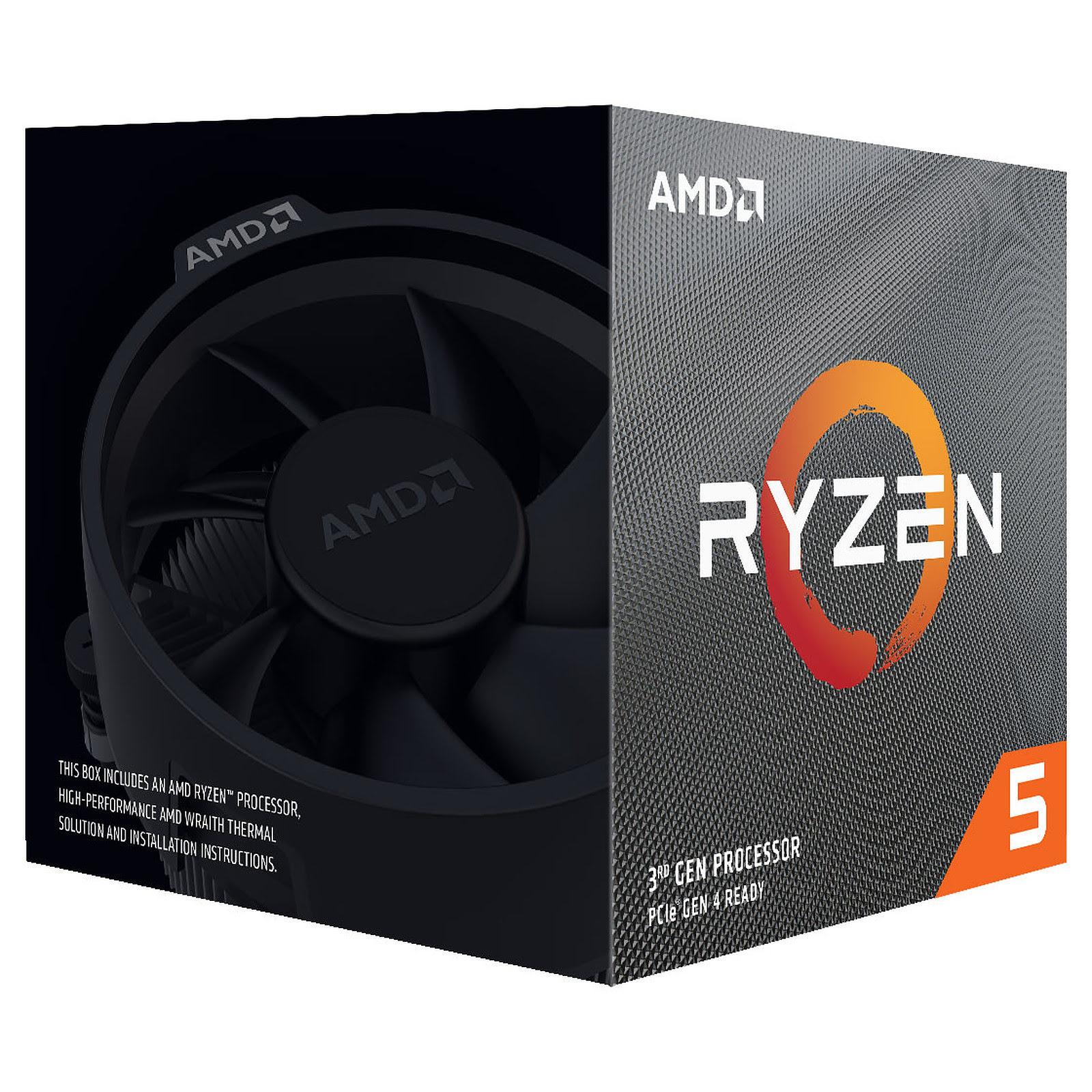 AMD Ryzen 5 3600X - 4.4GHz - Processeur AMD - Cybertek.fr - 2