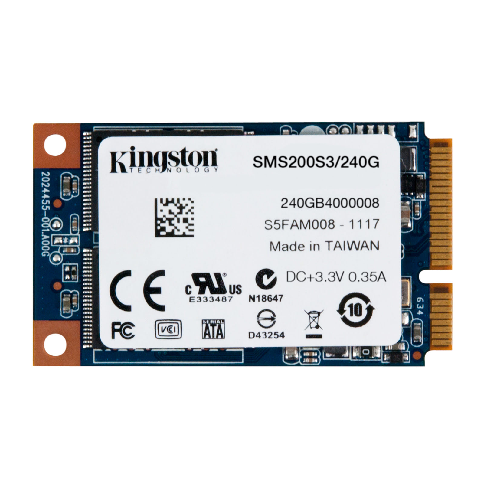 Kingston SMS200S3/240G 240-275Go - Disque SSD Kingston - 0