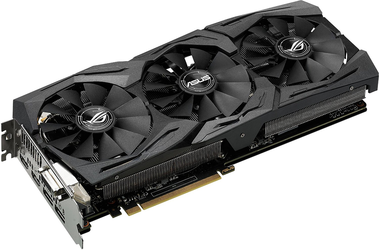 Asus GeForce STRIX-GTX1070-O8G-GAMING  (90YV09N0M0NA00) - Achat / Vente Carte Graphique sur Cybertek.fr - 0