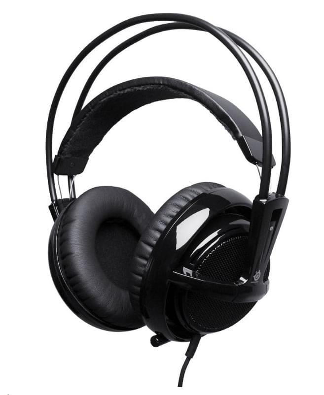 Steelseries Siberia Noir V2 avec micro (51101) - Achat / Vente Micro-casque sur Cybertek.fr - 0