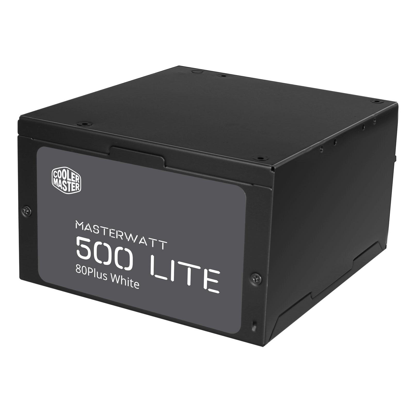 Cooler Master MasterWatt Lite (500W) - Alimentation Cooler Master - 3