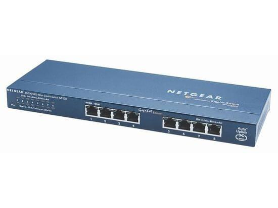 Switch Netgear 8 Ports 10/100/1000Mbps - GS108GE - Cybertek.fr - 0