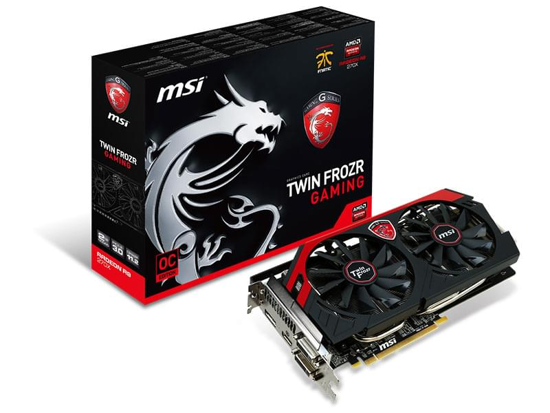 MSI  - 2Go - carte Graphique PC - GPU ATI/AMD - 0