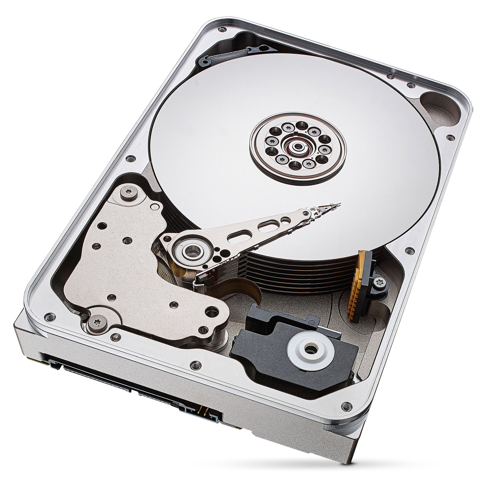 "Seagate 12To SATA III 256Mo IronWolf ST12000VN0007 - Disque dur interne 3.5"" - 1"