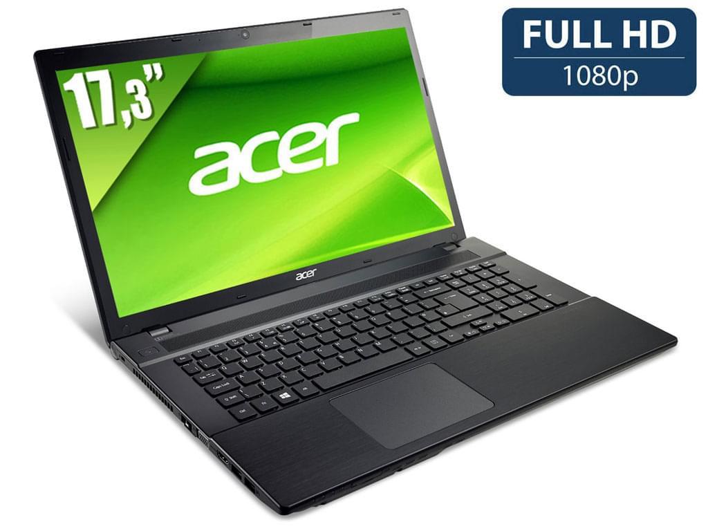 "Acer V3-772G-747a8G1TMakk -i7-4702/8Go/1To/GTX760/17.3"" (NX.M8SEF.001) - Achat / Vente PC portable sur Cybertek.fr - 0"