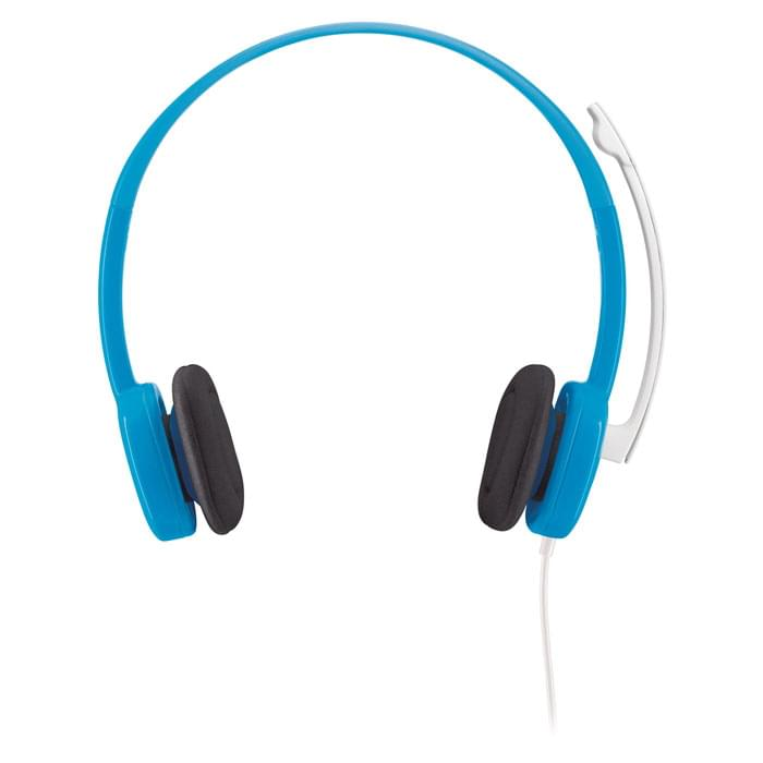 Logitech Stereo Headset H150 Blueberry   - Micro-casque - 0
