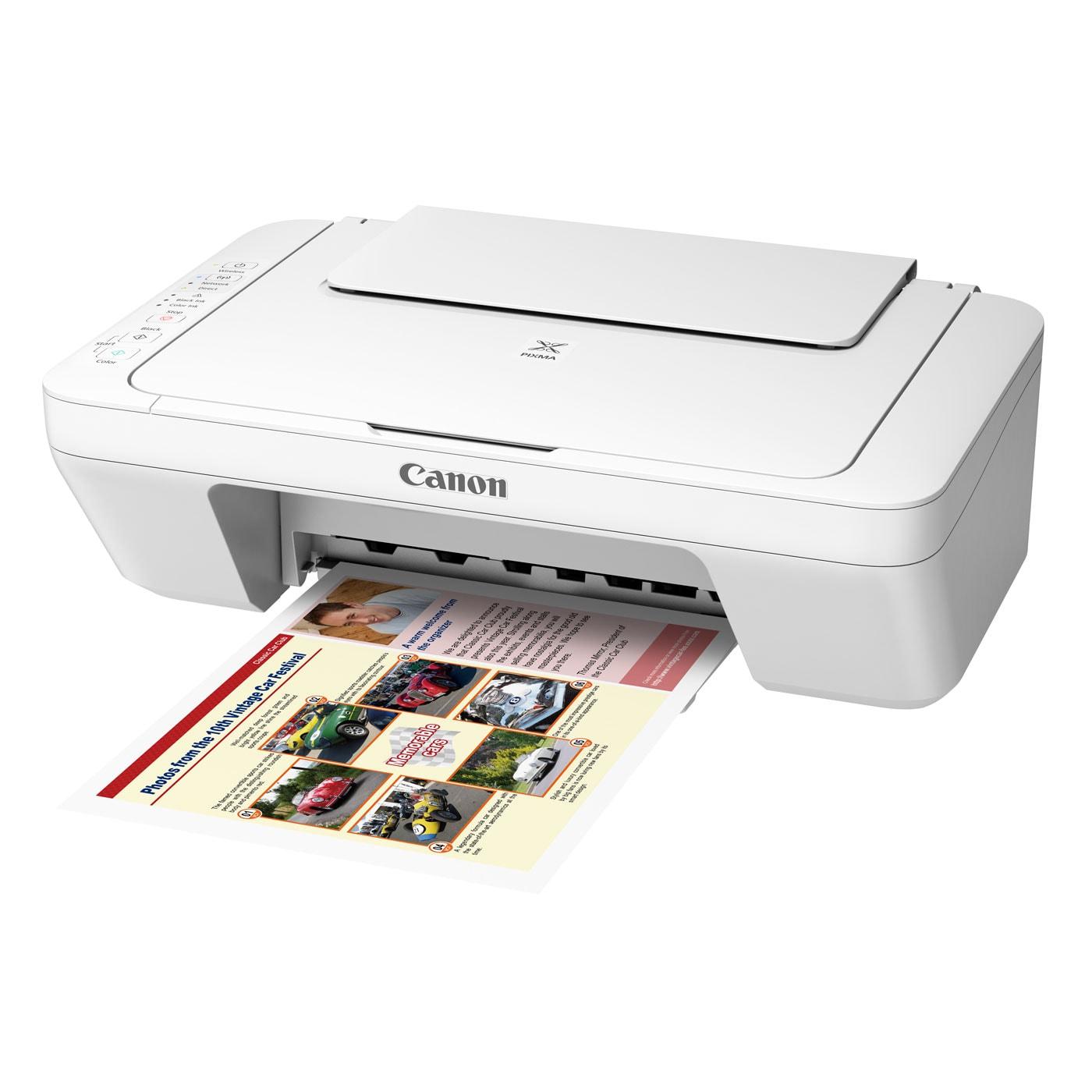 Imprimante multifonction Canon PIXMA MG3051 Blanche - Cybertek.fr - 3