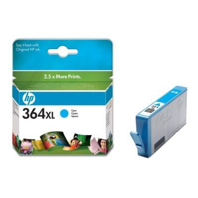 Consommable imprimante HP Cartouche Cyan HP 364XL - CB323EE