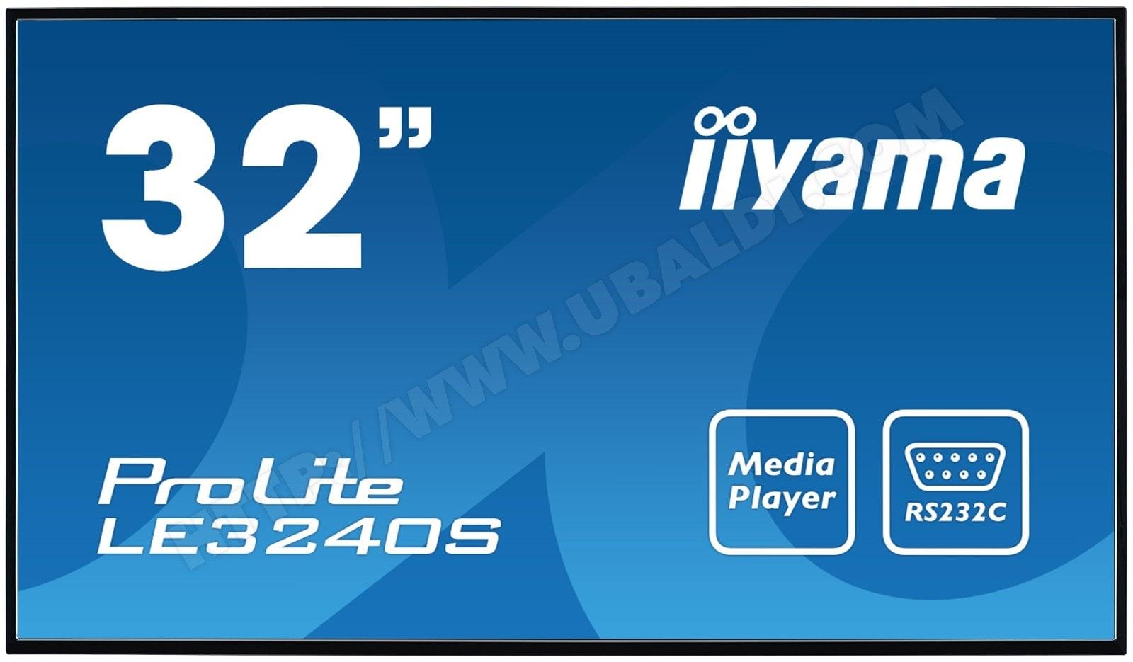 Iiyama LE3240S-B1 (LE3240S-B1) - Achat / Vente Ecran PC sur Cybertek.fr - 0
