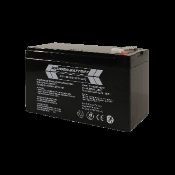 Batterie de remplacement 12V 9Ah - 61946 - Onduleur Infosec - 0
