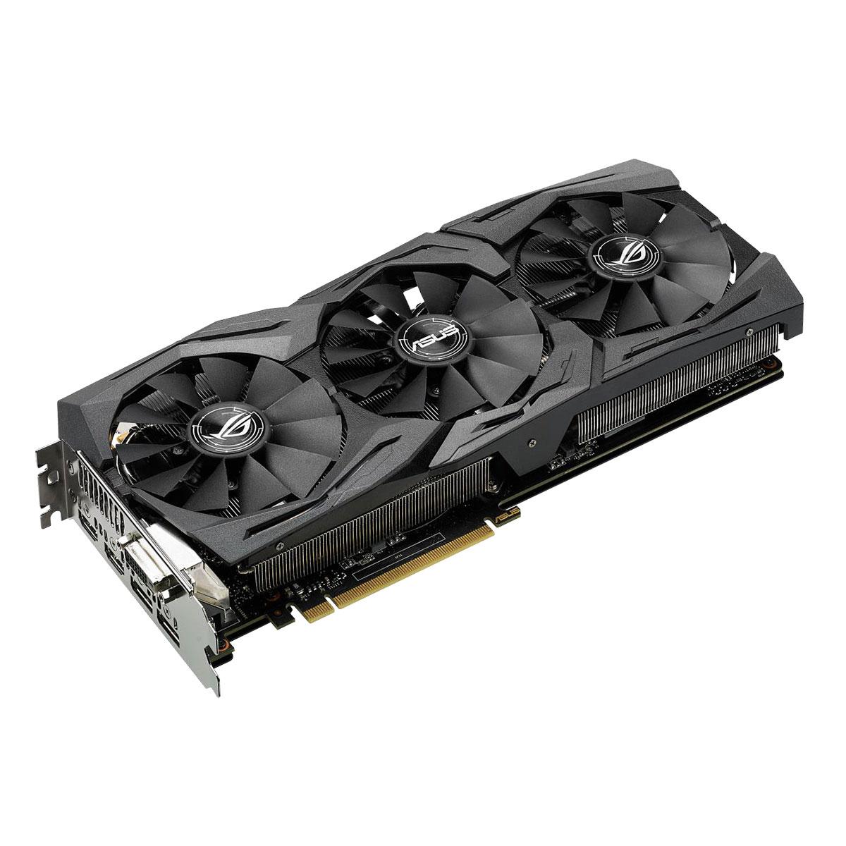 Asus GeForce GTX 1060 ROG STRIX-GTX1060-6G-GAMING (STRIX-GTX1060-6G-GAMING **) - Achat / Vente Carte graphique sur Cybertek.fr - 4